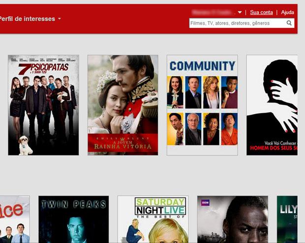 Acesse sua conta no Netflix (Foto: Reprodução)
