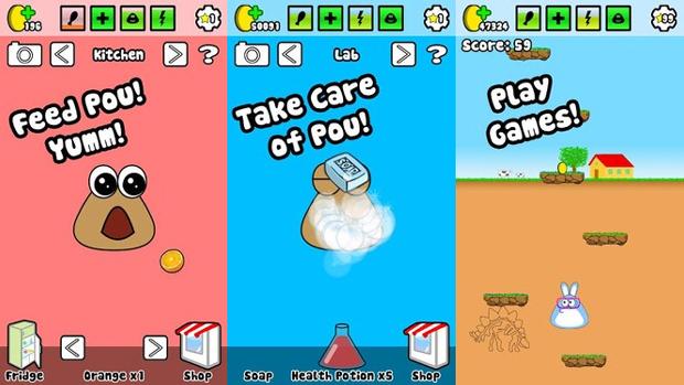 A jogabilidade de Pou é simples e acessível (Foto: Divulgação)