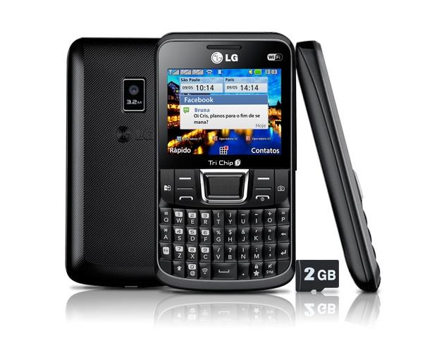 LG Tri Chip C333 (Foto: Divulgação/LG)