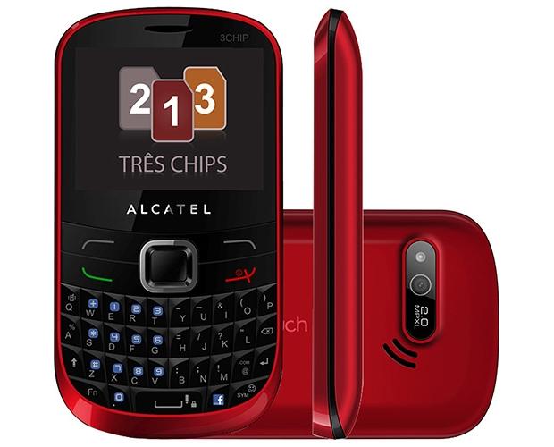 Alcatel One Touch OT-679 Tri Chip (Foto: Divulgação/Alcatel)