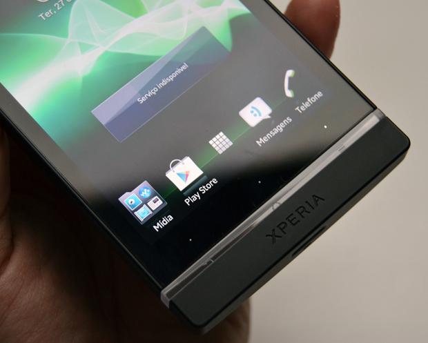Sony Xperia S (Foto: Stella Dauer/TrchTudo)