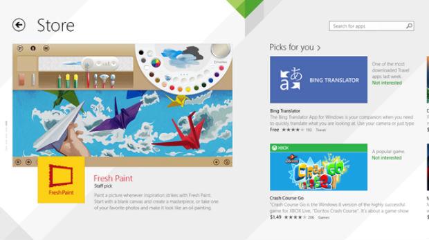 Loja remodelada (Foto: Divulgação/Microsoft)