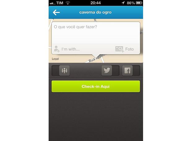 """Para adicionar amigos, clique no botão de """"+"""" (Foto: Reprodução/lucas da Silva)"""