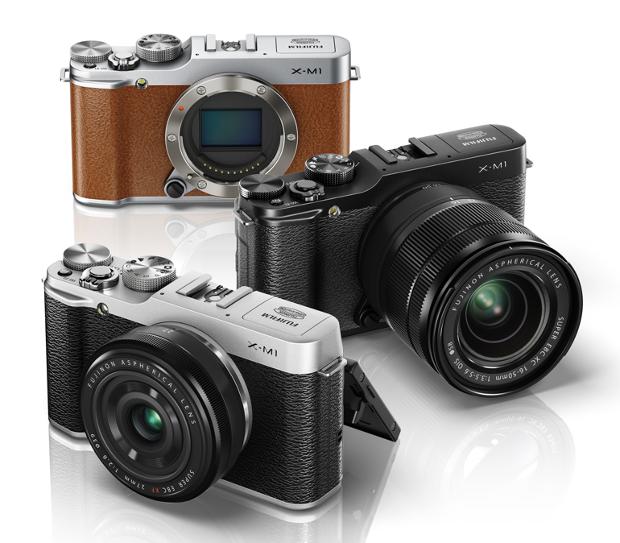 A XM-1 possui um visual retrô em três diferentes modelos de cores (Foto: Divulgação/ Fijifilm)