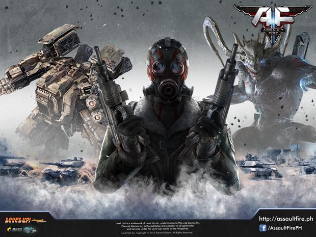 Assalt Fire traz ação contra monstros, robôs gigantes e outros (Foto: Divulgação)