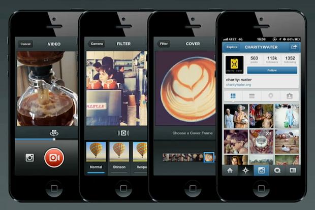 Instagram e sua interface de vídeos (Foto: Divulgação)