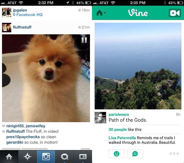 A diferença entre as redes sociais dos apps (Foto: Reprodução / Techcrunch.com)