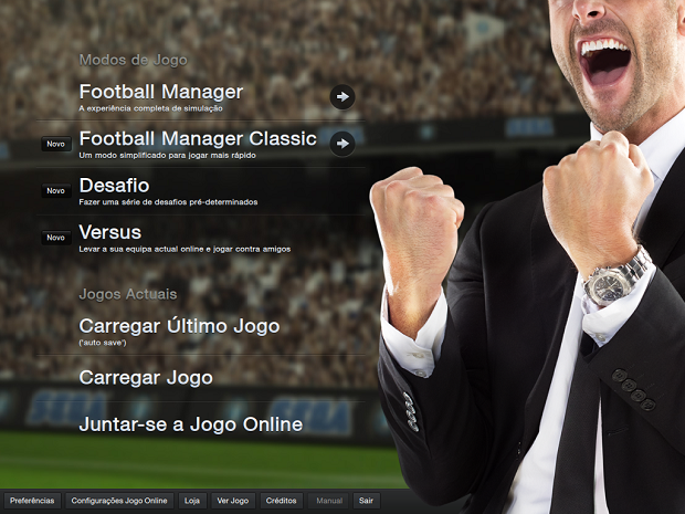 Antes de começar um jogo no FM, confira este tutorial (Foto: Reprodução/Thiago Barros)