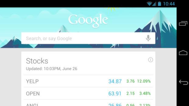 Google Now para Chrome funcionará como no Android (Foto: Reprodução/CNET)