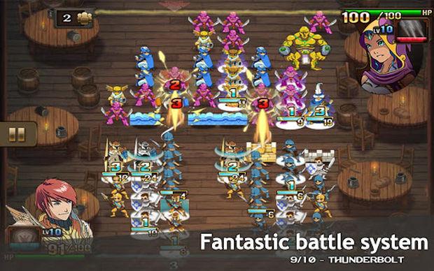 Clash of Heroes é uma aventura única, indicada para os fãs de RPG e Puzzle (Foto: Divulgação)