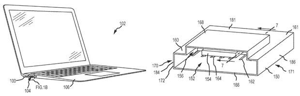 Patente pode criar portas únicas para conectores diferentes (Foto: Reprodução CNET)