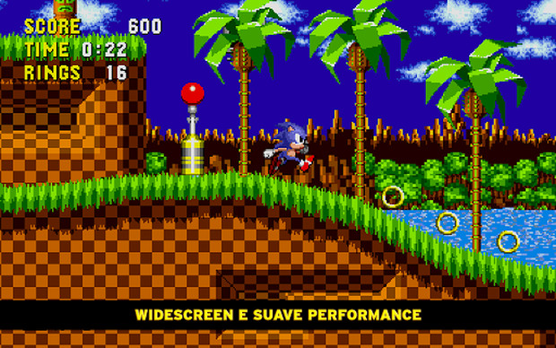 Todos os jogos do Sonic na faixa de R$ 2,21 cada. Aproveite! (Foto: Divulgação)