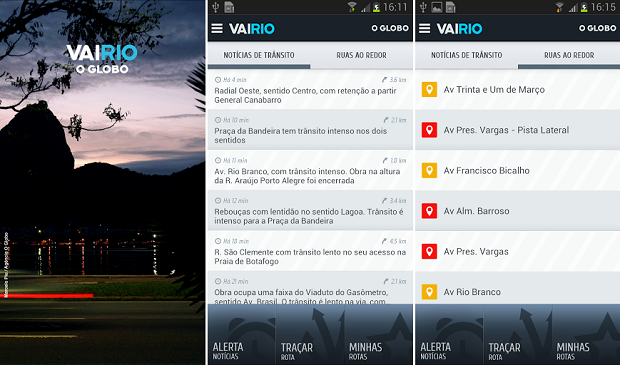 VaiRio é um app bastante útil para quem pega trânsito todo dia (Foto: Divulgação)