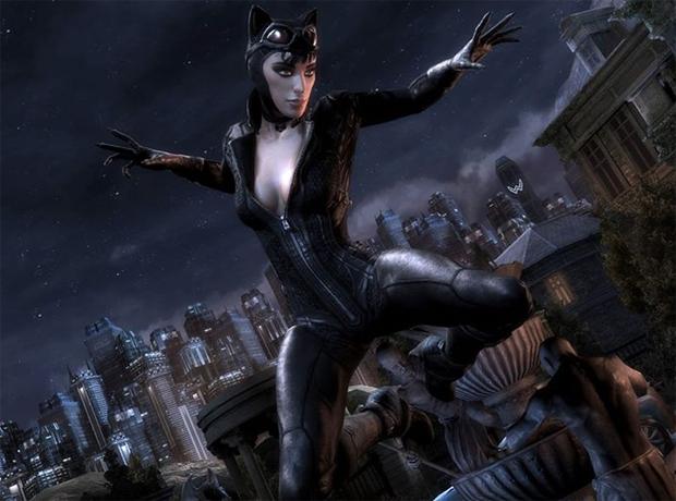 Mulher-Gato com visual de Arkham City (Foto: Divulgação)
