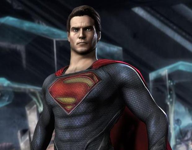 Superman com a roupa do filme Man of Steel (Foto: Divulgação)