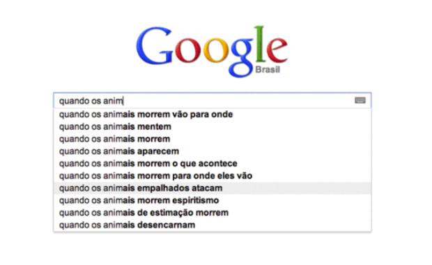 Sugestão curiosa do autocompletar do Google (Foto: Reprodução/Gente que Busca) (Foto: Sugestão curiosa do autocompletar do Google (Foto: Reprodução/Gente que Busca))
