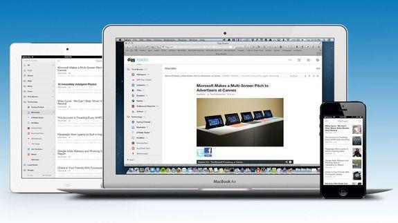 Digg Reader lançado para competir com os grandes serviços de RSS (Foto: Reprodução)