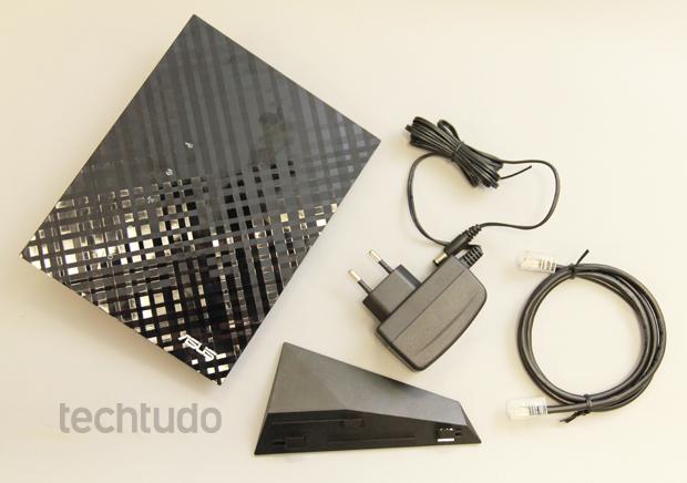 Asus N14U (Foto: TechTudo/Allan Melo)