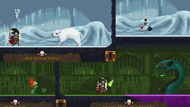 Deep Dungeons of Doom é um dos jogos já disponíveis para o Ouya (Foto: reviews.cnet.com)