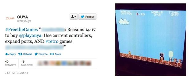Super Mario Bros. no Ouya levantou debate sobre emulação (Foto: nintendolife.com)