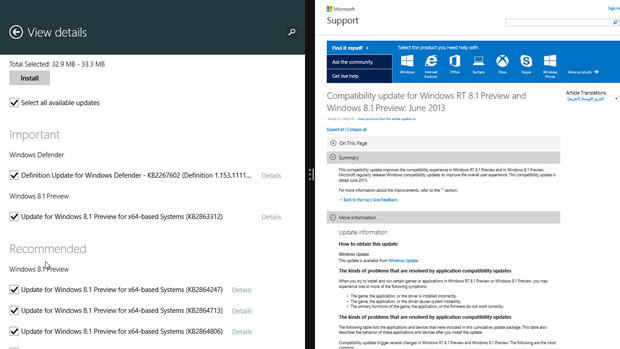 Correção de bugs chegou com atualização do Windows (Foto: Reprodução/CNET)