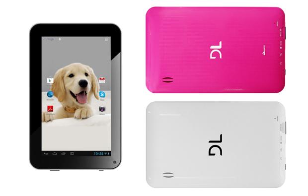 DL I-Style é um novo tablet brasileiro, com função roteador e tela de sete polegadas (Foto: Arte/Divulgação)