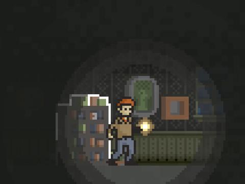 Jogo de terror com visual 2D assusta? Sim (Foto: Divulgação)