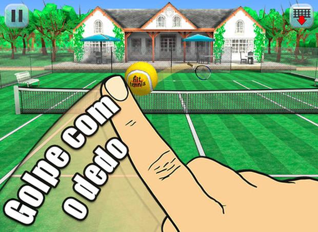 Jogar tênis nunca foi tão fácil (Foto: Divulgação)