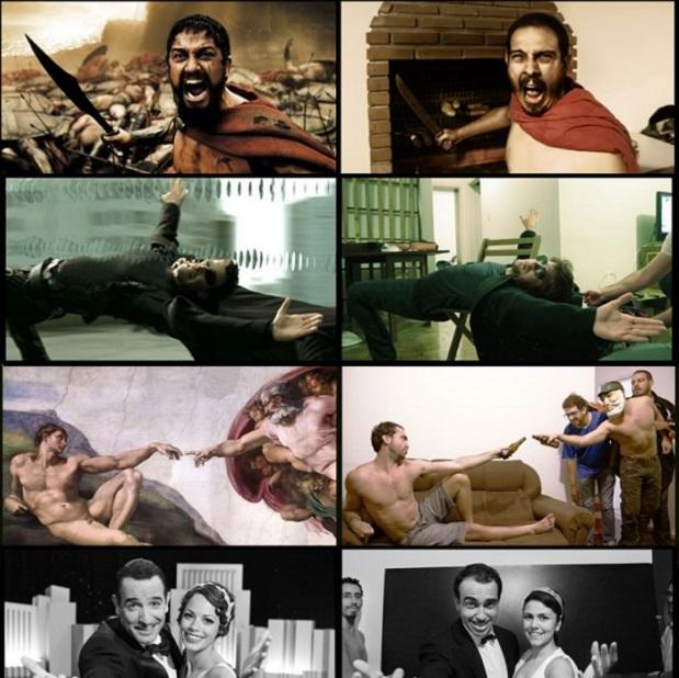 Série recria momentos marcantes da vida real e da ficção (Foto: Reprodução Facebook)