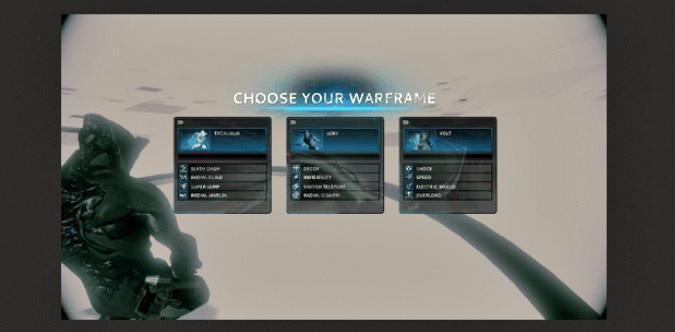 Escolhendo seu primeiro Warframe (Foto: Reprodução / TechTudo)