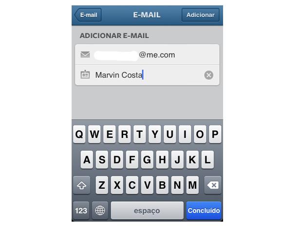Adicione emails a opção de compartilhamento do Instagram (Foto: Reprodução/Marvin Costa)