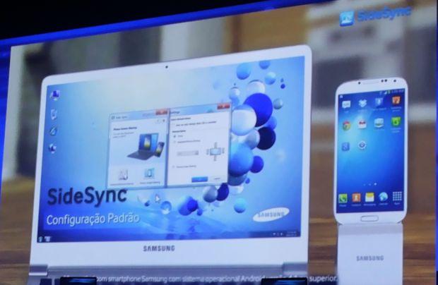 Vídeo de divulgação do SideSync (Foto: Pedro Zambarda/TechTudo)