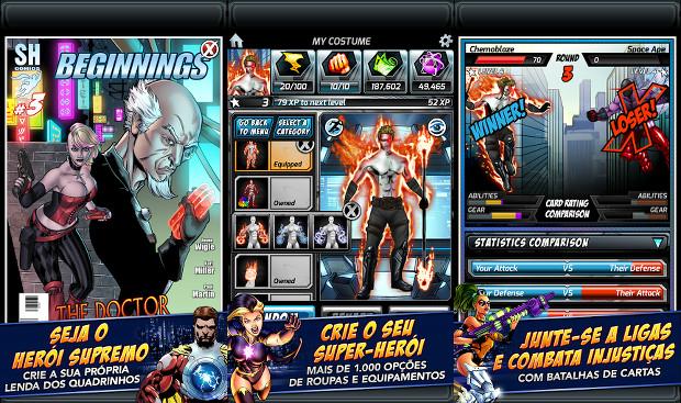 Supreme Heroes realiza o sonho de virar herói e ter sua própria HQ (Foto: Divulgação)