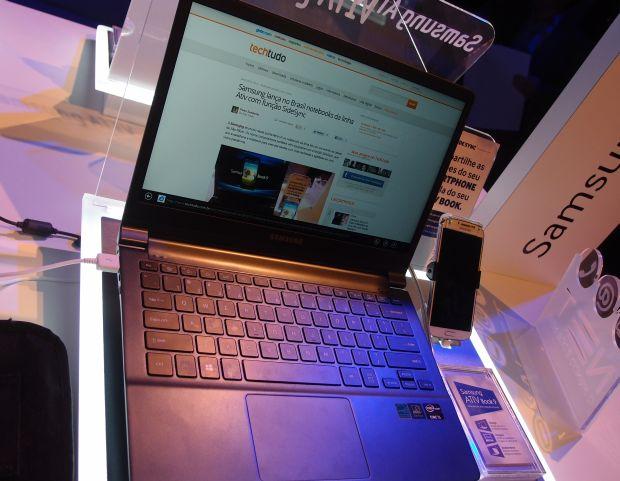 Preço do Ativ Book 9 é comparável ao MacBook Air (Foto: Pedro Zambarda/TechTudo)