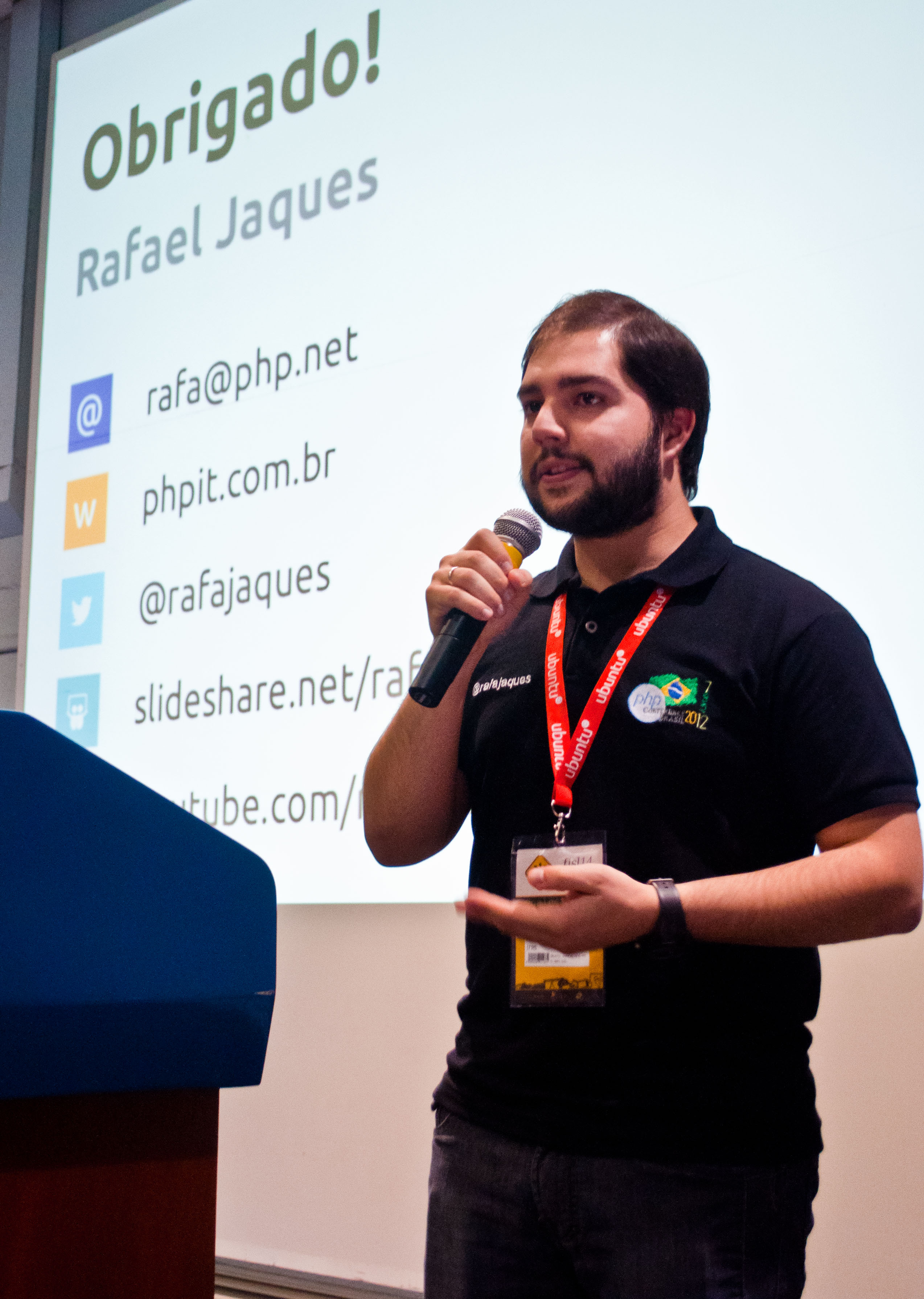 Rafael Jaques no 14º Fisl (Foto: Giordano Tronco/Techtudo)