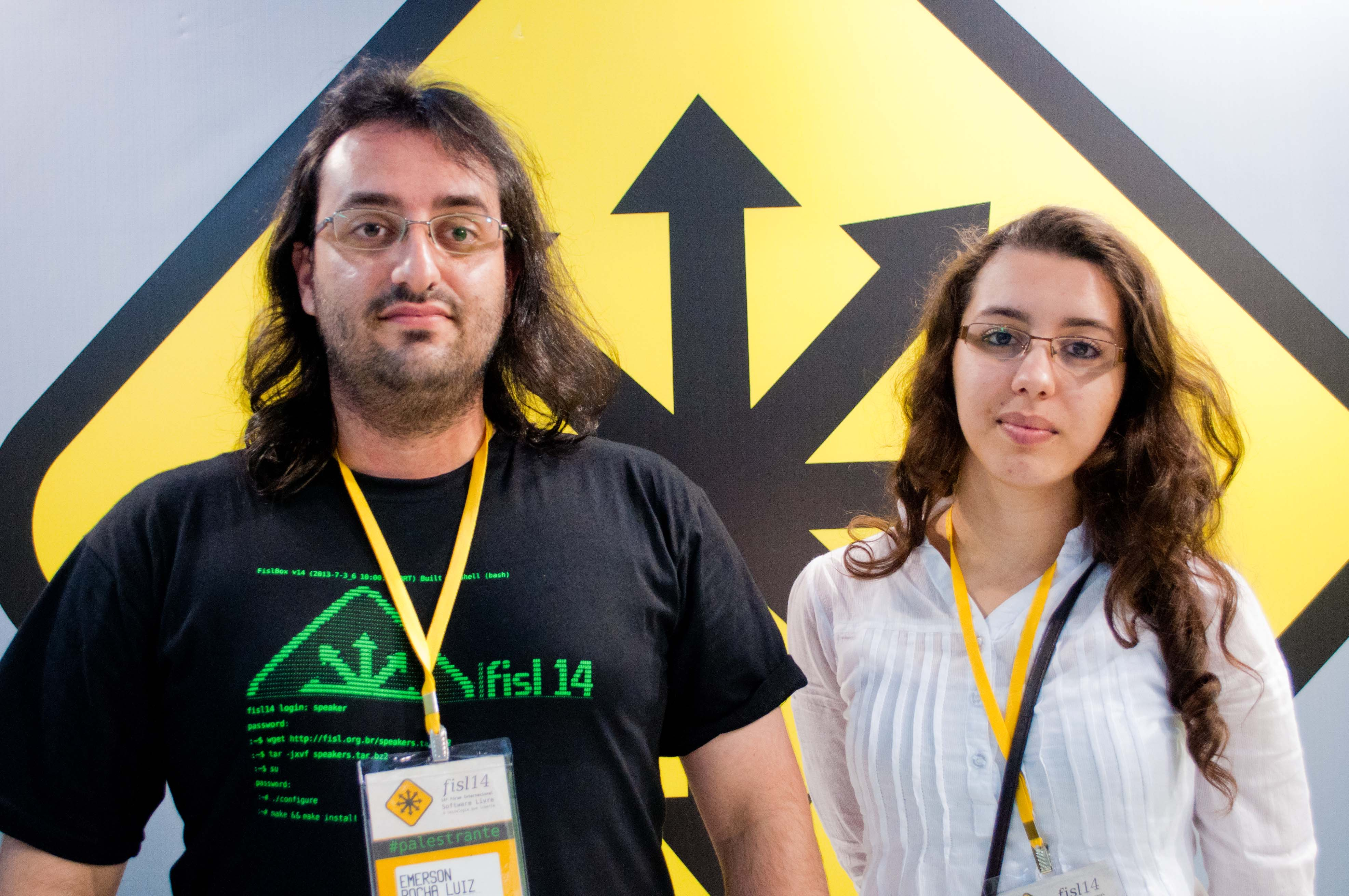 Emerson e Juliana (Foto: Giordano Tronco/Techtudo)