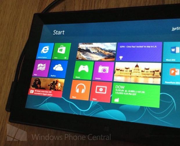 Fotos mostram o que seria tablet da Nokia com Windows RT (foto: Divulgação)
