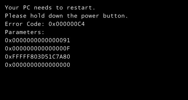 "Erro ""0x000000C4"" durante boot no VirtualBox (Foto: Reprodução/Edivaldo Brito)"