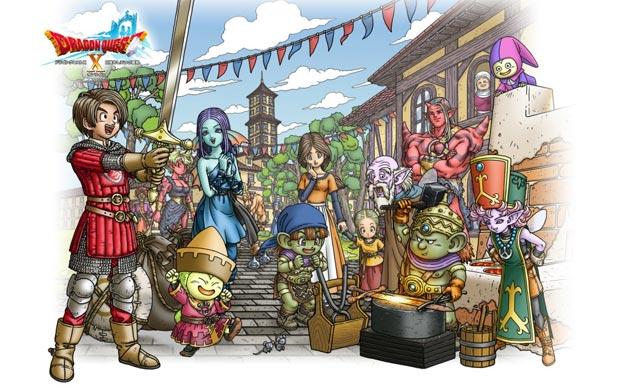 Dragon Quest X chega ao PC em setembro (Foto: Divulgação)