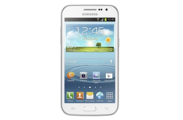 Novo Galaxy Win Duos é um smartphone intermediário, que custa R$ 999 (Foto: Divulgação) (Foto: Novo Galaxy Win Duos é um smartphone intermediário, que custa R$ 999 (Foto: Divulgação))