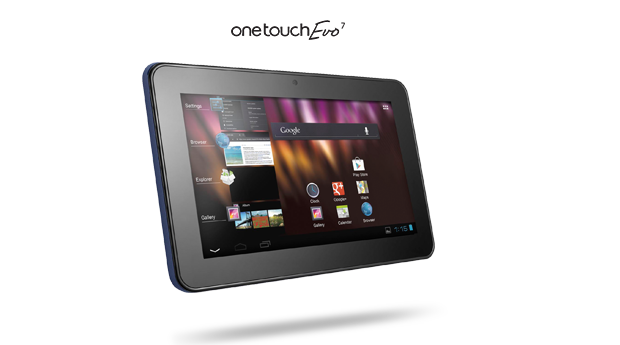 Tablet Alcatel será exclusivo da TIM (Foto: Divulgação)
