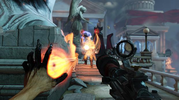 Bioshock Infinite traz inúmeros recursos espetaculares. (Foto: Reprodução)