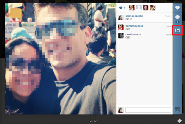 Foto do Instagram (Foto: Reprodução/Lívia Dâmaso)