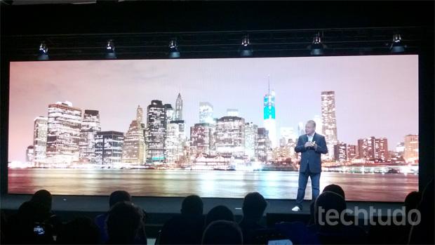 Anúncio do Lumia 1020 (Foto: Allan Melo/TechTudo)
