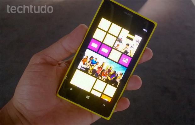 Lumia 1020, o smartphone da Nokia com Windows Phone 8 e câmera de 41 megapixels (Foto: Allan Melo/TechTudo)