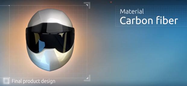 Startup russa cria capacete semelhante ao Google Glass (Foto: reprodução/LiveMap)