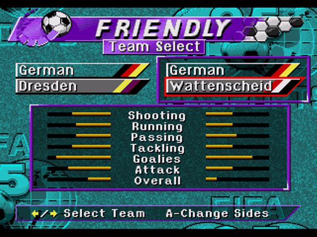 Fifa 95 introduziu as principais ligas de futebol do mundo (Reprodução/MobyGames/TechTudo)