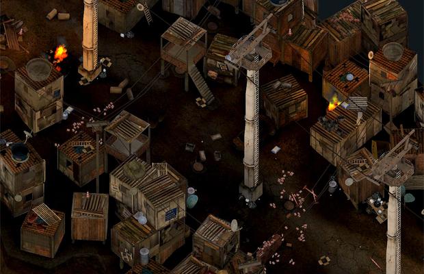 Complexo do Alemão é novo estágio no jogo brasileiro Favela Wars (Foto: Divulgação)