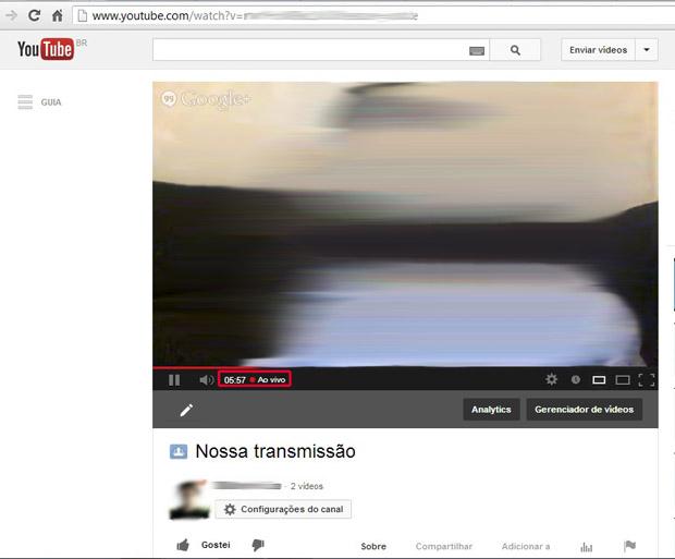 Como fazer um stream pelo YouTube Live Stream (Foto: Reprodução/Marvin Costa) (Foto: Como fazer um stream pelo YouTube Live Stream (Foto: Reprodução/Marvin Costa))