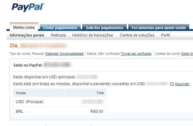 """Clique em """"Enviar pagamentos"""" (Foto: Reprodução)"""